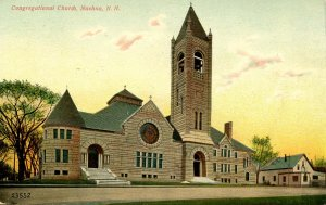 NH - Nashua. Congregational Church