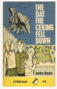 The Day The Ceiling Fell Down 1966 Puffin Book Postcard