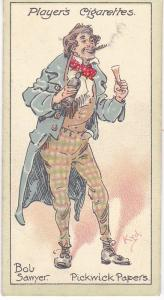 Cigarette Cards Players Characters From Dickens No 19 Bob Sawyer
