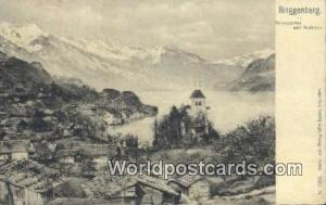 Ringgenberg Swizerland, Schweiz, Svizzera, Suisse Brienzersee und Rothron Rin...