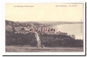 Val Andre Old Postcard General view