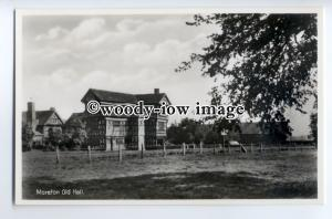 tp9022 - Cheshire - Tudor Moreton Old Hall from fields, nr. Congleton - postcard