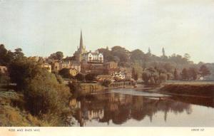 England (Rhosan ar Wy) Ross and River Wye, Real Photograph