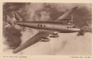 D. H. Albatross airplane , 1930s