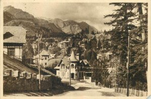 Postcard RPR Romania Sinaia view
