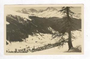 RP  Blick von Schutzalp n. Sertig, Switzerland, PU-1932