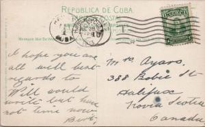Havana Cuba President's Palace & Senate Building Habana c1913 Postcard E33