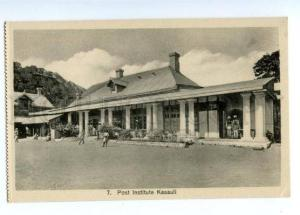 147308 INDIA KASAULI Post Institute Vintage postcard