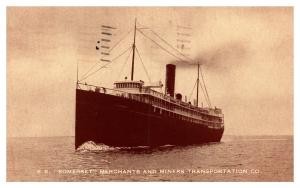 S.S. Somerset ,  Merchants and Miners Transportation Co