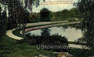 Chestnut Hill Reservoir - Brookline, Massachusetts MA