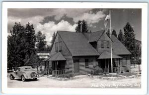 RPPC  BIG BEAR CITY, CA   POST OFFICE  1948  Sophia Lauth, Postmaster  Postcard