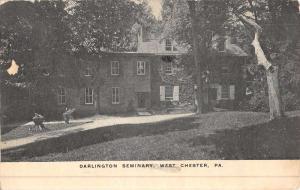 West Chester Pennsylvania Darlington Seminary Antique Postcard K49144