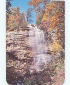 Pre-1980 WATERFALL SCENE Tryon - Near Hendersonville North Carolina NC E4467