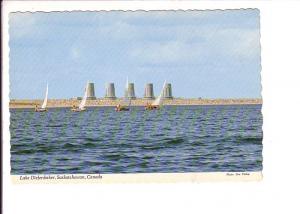 Sailing, Gardiner Bam, Biefenbaker Lake,  Saskatchewan