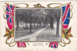 CHATHAM , Ontario , Canada , 1909 ; Tecumseh Park