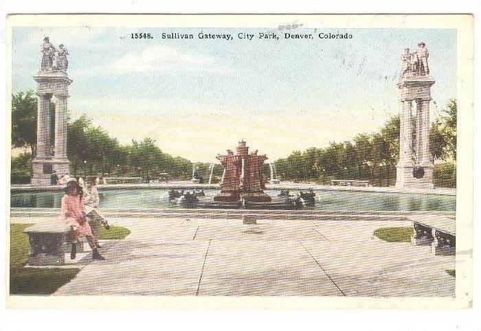 Sullivan Gateway, City Park, Denver, Colorado, 10-20s