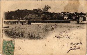 CPA SAMOIS - Le Barrage sur la SEINE (249382)