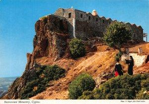 Cyprus Stavrouvouni Monastery postcard