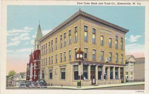 First Tyler Bank and Trust Company Sistersville West Virginia Curteich