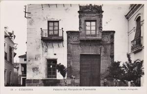 RP, Palacio Del Marques De Fuensanta, CORDOBA (Andalucia), Spain, 1920-1940s