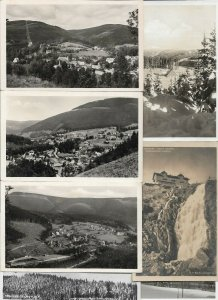 Czech Republic - Krkonoše Postcard Lot of 16 RPPC and Printed   - 01.02