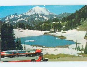 Pre-1980 MOUNT RAINIER NATIONAL PARK Seattle Tacoma Olympia Washington WA HJ7552
