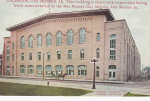 DES MOINES , Iowa , 00-10s ; Coliseum