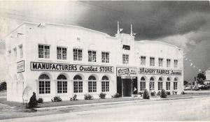 E18/ St Petersburg Florida Fl Postcard c1940s Fabric Store Drapery Yardage