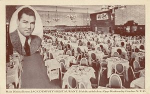 NEW YORK CITY, 30-50s ; Jack Dempsey's Restaurant, Main Dining Room, 50th & 8th