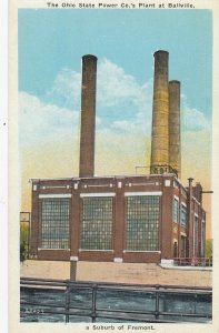 BALLVILLE , Ohio, 1910-20s ; Ohio State Power Company Plant