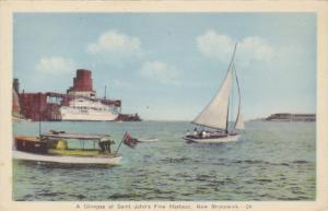 Sail boat, A Glimpse of SAINT JOHN's Fione Harbour, New Brunswick, Canada, 10...