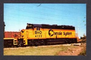 IL Baltimore & Ohio Train Railroad RR McCook ILLINOIS