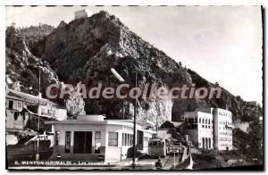 Old Postcard Menton Grimaldi
