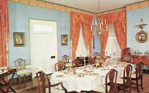 IN - Vincennes, Grouseland- Home of William Henry Harrison, Dining Room
