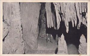 The Natural Bridge And Tower Of Babel Grottoes Of The Shenandoah Grottoes Vir...