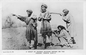 Group of Mahsud Waziries Sniping Passing Troops N.W.F.P. Peshawar Pakistan