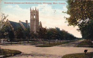 ME Church, Winnipeg , Manitoba , Canada , PU-1914