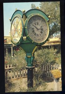 Long Beach, California/CA/Calif Postcard, Town Clock