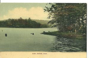 1910's Lake, Enfield, Connecticut