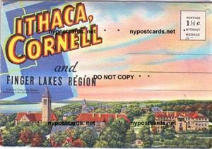 FOLDER, Ithaca, Cornell, & Finger Lakes NY