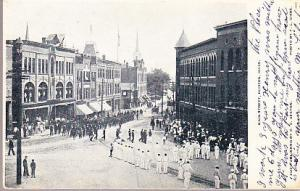 US - Massachusetts - Hudson - Main St.  1905  Parade