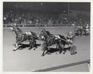 MEADOWLANDS Harness Horse Race , ARMBRO TYSON winner, 1979