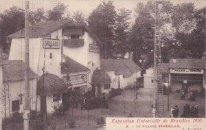 Exposition Universelle Bruxelles 1910 Le Village Senegalais