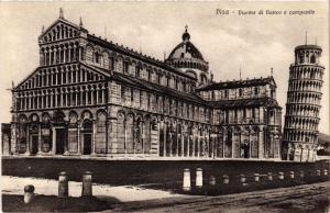 CPA PISA Duomo di fianco e campanile. ITALY (468067)