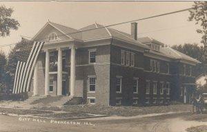 RP: PRINCETON , Illinois , 1900-10s ; City Hall