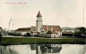 ME - Bangor. Union Railroad Station, Depot