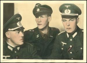 3rd Reich Waffen SS Totenkopf Volunteers Lithuania Original Uniform 5x7 Ph 38277