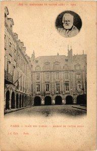 CPA PARIS 4e Place des Vosges. Maison de Victor Hugo (463995)