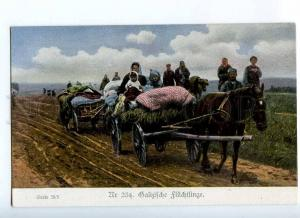 191491 WWI UKRAINE Galicia native type Vintage postcard