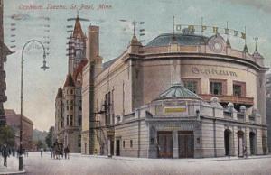 Minnesota St Paul Orpheum Theatre 1909